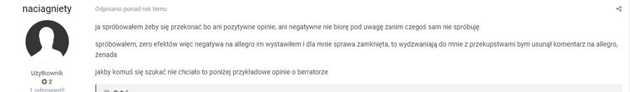 Berrator opinie forum 2